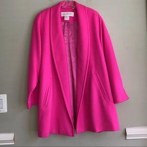 Escada Pink Swing Blazer size Medium